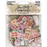 Tim Holtz - Idea-Ology - Ephemera Snippets Tiny Die-Cuts 81/Pkg - Christmas 2019 (TH94009)