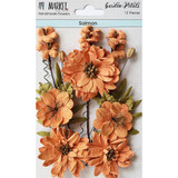 49 and Market - Flowers Garden Petals 12/Pkg - Salmon (49GP - 88978)
