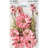 49 and Market - Flowers Garden Petals 12/Pkg - Flamingo (49GP - 89005)