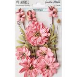 49 and Market - Flowers Garden Petals 12/Pkg - Flamingo (49GP - 89005)