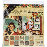 "Graphic 45 - Deluxe Collector's Edition Pack 12""x12"" - Raining Cats and Dogs (G4501648)"