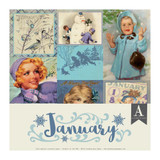 Authentique - Calendar Collection 12x12 - January (CAL-049)
