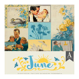 Authentique - Calendar Collection 12x12 3/Pkg - June (CAL-054)