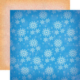Carta Bella - A Very Merry Christmas 12x12 Cardstock - Winter Snowflakes (CBVMC72013)