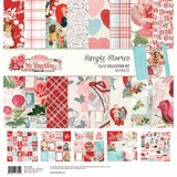 Simple Stories - Collection Kit 12x12 - Simple Vintage My Valentine (MV11800)