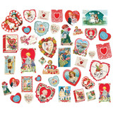 Simple Stories - Cardstock Die-Cut Ephemera 40 pkg - Simple Vintage My Valentine (MV11826)