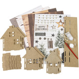 Studio Light - Create Your Life - MDF Christmas Set - 3D Neighborhood Homes (MDFSL55)