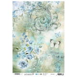 Studio Light Jenine's Mindful Art - Decoupage Rice Paper A4 - NR. 01 (RICEM01)