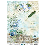Studio Light Jenine's Mindful Art - Decoupage Rice Paper A4 - NR. 04 (RICEM04)
