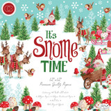 "Craft Consortium Helz Cuppleditch - Double-Sided Paper Pad 12""X12"" 40/Pkg - It's Snome Time (PAD011)"