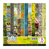 Ciao Bella - Double-Sided Paper Pack 6x6 24/Pkg - Start Your Engines (CBQ031)
