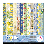 Ciao Bella - Double-Sided Paper Pack 6x6 24/Pkg - Sicilia (CBQ033)
