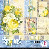 "Ciao Bella - 12""X12"" Double-Sided Paper Pack 11/pkg - Sicilia (CBPM033)"