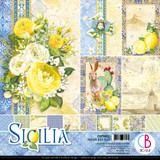 "Ciao Bella - 12""X12"" Double-Sided Paper Pack 11/pkg - Sicilia (CBPM033)"