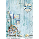 Ciao Bella - Decoupage Rice Paper Sheet - Coastal Living (CBRP109)