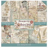 Stamperia - Double-Sided Cardstock Collection 8x8 - Imagine (SBBS07)