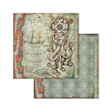 Stamperia - Double-Sided Cardstock 12x12- Sea World - Octopus (SBB663)