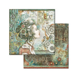 Stamperia - Double-Sided Cardstock 12x12- Sea World - Lady (SBB661)