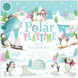 "Craft Consortium - Paper Pack (10 sheets) Double-Sided 12""X12"" Cardstock - Polar Playtime (PAD014/10PKG)"