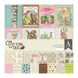 Authentique - Collection Kit 12x12- Cottontail (CTN011)