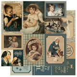 Authentique - Paper Collection Kit 12x12 - Purebred - #7 Cat Cut Aparts (PUR12 - 007)