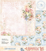 Blue Fern Studios - Double-Sided Paper 12x12- A Romantic Life - Intrigue (ARL- INT)