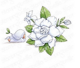 Stamping Bella - Cling Stamps - Bundle Girl With Gardenia (EB912)