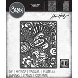Sizzix - Tim Holtz - Thinlits Dies - Doodle Art (664417)