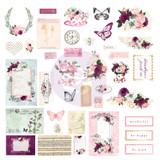 Prima - Cardstock Ephemera 38/Pkg - Pretty Mosaic (642228)