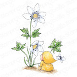 Stamping Bella - Cling Stamps - Bundle Girl With A Wood Anemone (EB913)