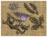 Prima - Mechanicals Metal Embellishments - Leaves 1 (MECH-61039 )