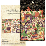 Graphic 45 - Ephemera Die Cut Assortment - Fruit & Flora (G4502005)