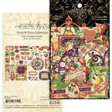 Graphic 45 - Ephemera Die Cut Assortment - Fruit & Flora (G4502005)