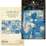 Graphic 45 - Ephemera Die-Cut Pack - Ocean Blue (G4502021)