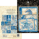 Graphic 45 - Ephemera & Journaling Cards- Ocean Blue (G4502020)