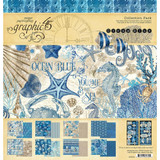 Graphic 45 - Collection Pack 12x12 - Ocean Blue (G4502016)