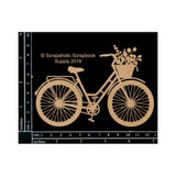 Scrapaholics - Laser Cut Chipboard - Bicycle (S52286)