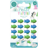 Craft Consortium - Adhesive Resin Fish - Polar Playtime (CRESS001)