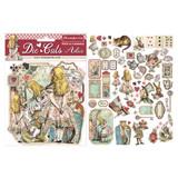 Stamperia - Die-Cut Chippies - 62/pcs - Alice (DFLDC07)