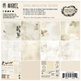 "49 and Market - Scrapbooking Paper Pack 6""X6"" - Vintage Artistry Natural Collection (VAC32549)"