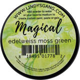 Lindy's Stamp Gang - Magicals Individual Jar - Edelweiss Moss Green (MAG JAR 04)
