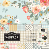 My Mind's Eye - Double-Sided Paper Collection 12x12 - Gingham Gardens (GF2111)