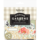 My Mind's Eye -Mixed Bag Cardstock Die-Cuts - Gingham Gardens (GF2116)