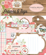 Carta Bella - Frames & Tags 33/Pkg - Farmhouse Market (AR113037)