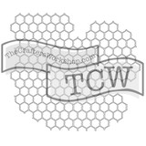 The Crafters Workshop - 6x6 Template Stencil - Mini Chicken Wire (TCW 239s)