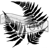 The Crafters Workshop - 6x6 Template Stencil - Mini Ferns (TCW 243s)