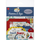Carta Bella - Tags and Pockets 33/Pkg - Family Night (FN114025)