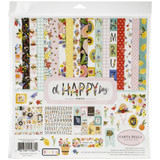 Carta Bella - Double Sided Cardstock Collection Kit 12 x 12 - Oh Happy Day Spring (HD112016)