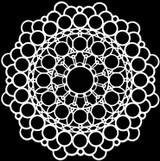 12x12 Template Stencil - Orb Mandala (TCW873)
