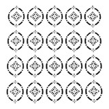 The Crafters Workshop - 6x6 Template Stencil - Pointelle (TCW 907s)
